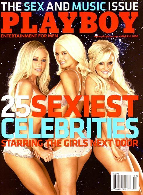 Playboy March 2008
