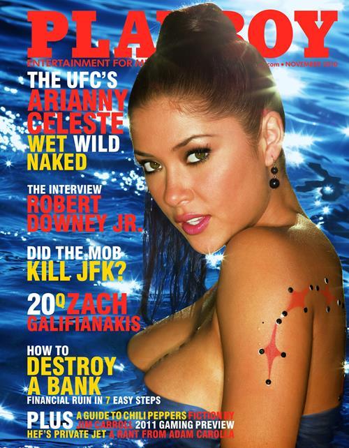Playboy November 2010