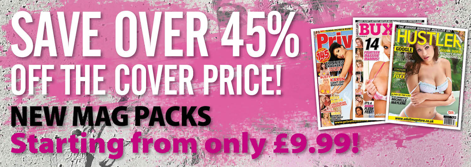 New Mag Packs - Starting from only £9.99