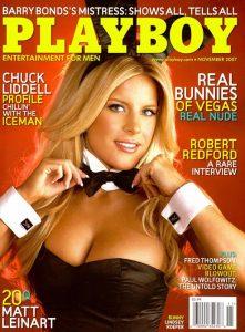 Playboy November 2007