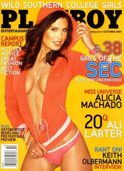 Playboy October 2007